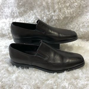 Bruno Magli Leather Loafers size 12 Raging M02049